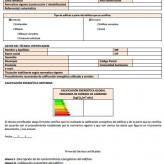 Condiciones técnicas administrativas relativas a los Certificados Energéticos